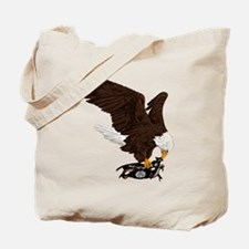 Eagle Crushes ISIS Tote Bag