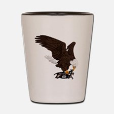 Eagle Crushes ISIS Shot Glass