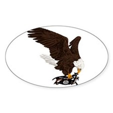 Eagle Crushes ISIS Decal