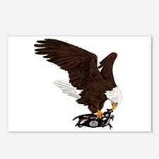 Eagle Crushes ISIS Postcards (Package of 8)