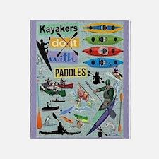Kayakers Throw Blanket