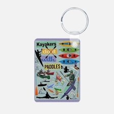 Kayakers Keychains Keychains