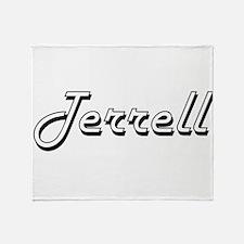Terrell surname classic design Throw Blanket