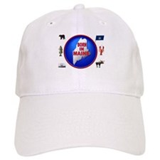 MAINE BORN Baseball Baseball Cap