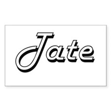 Tate surname classic design Decal