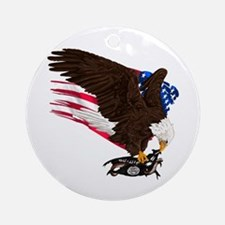 USA Destroys ISIS Ornament (Round)