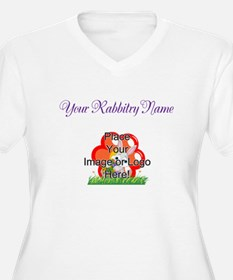 Add your Logo Plus Size T-Shirt