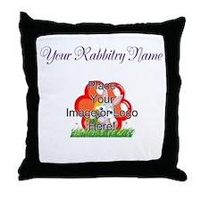 Add your Logo Throw Pillow