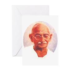 Gandhi Wisdom Greeting Card