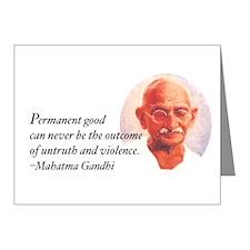Gandhi Wisdom Note Cards (Pk of 20)