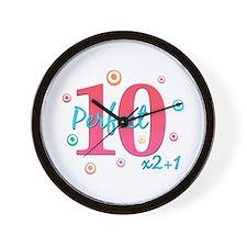 Perfect 10 x2+1 Wall Clock