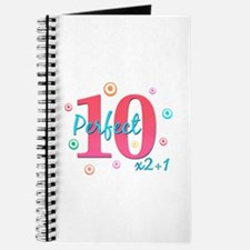 Perfect 10 x2+1 Journal