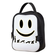 Burpee Smile Neoprene Lunch Bag