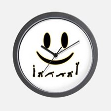 Burpee Smile Wall Clock