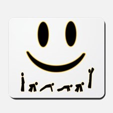 Burpee Smile Mousepad