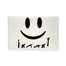 Burpee Smile Rectangle Magnet (10 pack)
