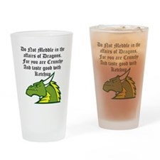 Dragon Affairs Drinking Glass