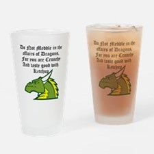 Dragon Affairs Drinking Glass
