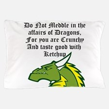 Dragon Affairs Pillow Case