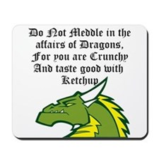 Dragon Affairs Mousepad