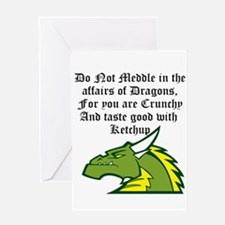Dragon Affairs Greeting Cards