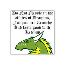 Dragon Affairs Sticker
