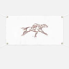 Race Horses Banner