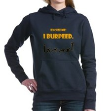 I Burpeed Women's Hooded Sweatshirt
