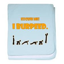 I Burpeed baby blanket