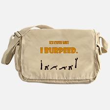 I Burpeed Messenger Bag
