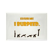I Burpeed Rectangle Magnet (100 pack)