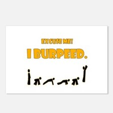 I Burpeed Postcards (Package of 8)