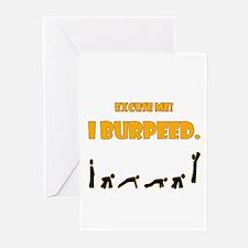 I Burpeed Greeting Cards (Pk of 10)