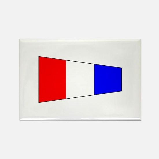 Pennant Flag Number 3 Magnets
