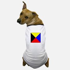 ICS Flag Letter Z Dog T-Shirt