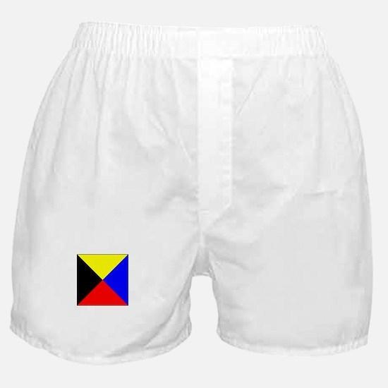 ICS Flag Letter Z Boxer Shorts