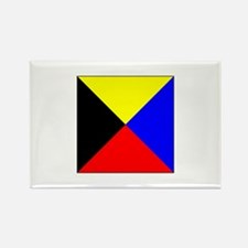 ICS Flag Letter Z Magnets