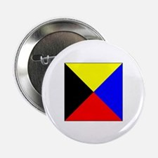 "ICS Flag Letter Z 2.25"" Button (10 pack)"