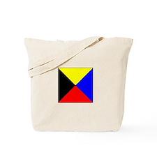 ICS Flag Letter Z Tote Bag