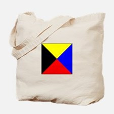 ICS Flag Letter Z Tote Bag
