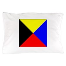 ICS Flag Letter Z Pillow Case