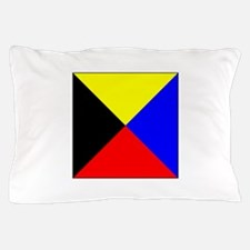 ICS Flag Letter Z Pillow Case