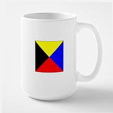 ICS Flag Letter Z Mugs