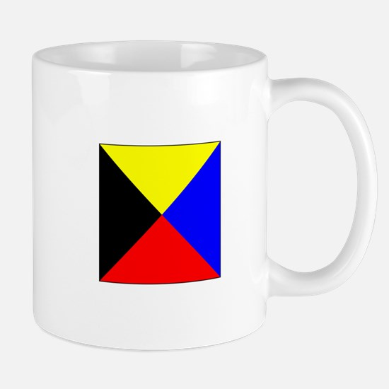 ICS Flag Letter Z Mugs