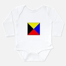 ICS Flag Letter Z Body Suit