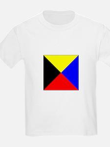 ICS Flag Letter Z T-Shirt