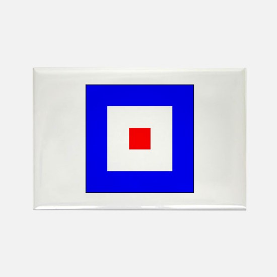 ICS Flag Letter W Magnets
