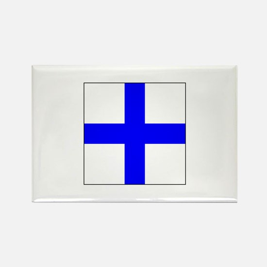 ICS Flag Letter X Magnets