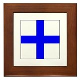 Ics flag Framed Tiles