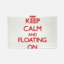 Keep Calm and Floating ON Magnets